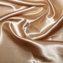 Antique Gold Satin High Sheen Fabric 0.5m